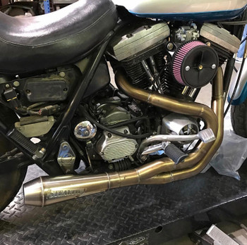 Stealth Exhaust - 2 into 1 Exhaust System - fits '89-'94 FXR