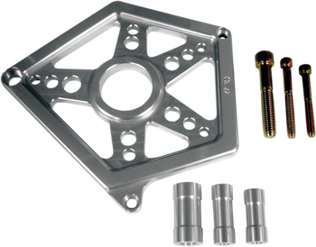 Joker Machine - Sprocket Cover - Clear Anodized fits '04-'17 XL Models