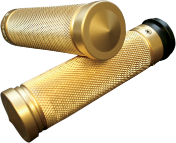 Accutronix - Custom Grips - Knurled Brass fits HD Models (see desc.)