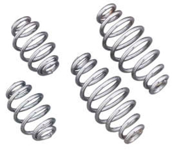 Biker's Choice -  Traditional Solo Seat Springs - Chrome