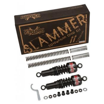 Burly Brand - Black Slammer Suspension Lowering Kit - fits '06-'15 Dyna