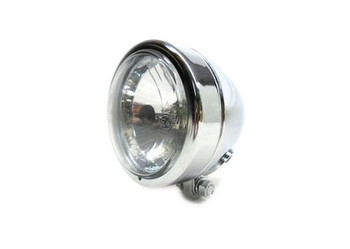 "Chopper & Bobber 4"" Headlight - Chrome"