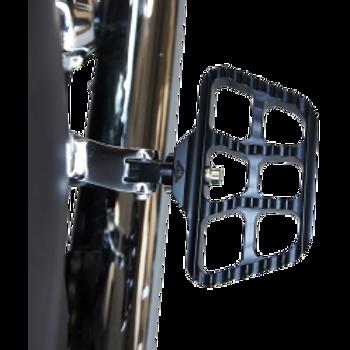 Joker Machine - Mini Serrated Floorboards - Black Anodized