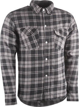 Highway 21 - Marksman Riding Flannel - Grey