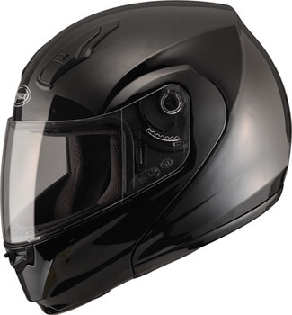 GMAX - MD04 Modular Motorcycle Helmet - Gloss Black