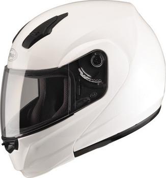 GMAX - MD04 Modular Motorcycle Helmet - Pearl White