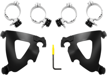Memphis Shades - Road Warrior Trigger-Lock Mount Kit - fits '06-'17 Dyna Models (Choose Finish)