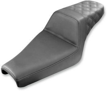 Saddlemen - Step-Up Rear Diamond Stitched Seat - Fits '06-'17 XL
