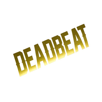 Deadbeat Customs - Deadbeat Vinyl Decal - Gold