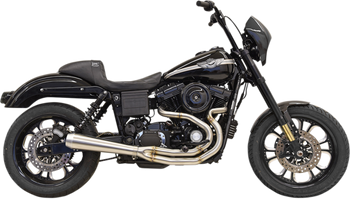 Bassani - Road Rage III 2-into-1 Exhaust System Stainless Steel - Fits Harley Davidson FXD