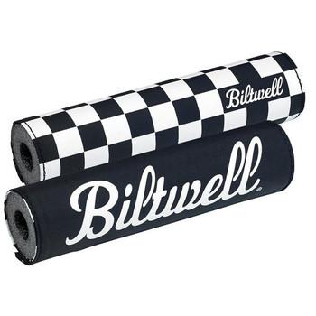 Biltwell - Moto Bar Pad - Checkers/Script Black