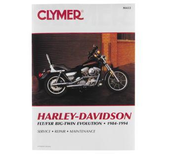 Clymer - Manual for '84-'98 Harley Davidson FLH,FLT,FXR Evolution