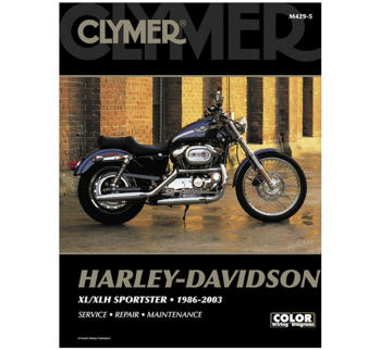Clymer - Manual for '86-'03 Harley Davidson XL/XLH Sportster