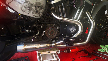 Stealth Exhaust - 2 into 1 Sportster Exhaust System