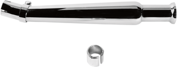 EMGO - Bell-End Megaphone Mufflers - Chrome