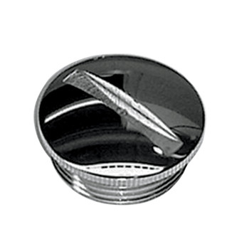 Colony - Primary Cover Filler Caps - fits '54-'70 XL - Raw or Chrome