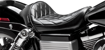 Le Pera - Stubs Cafe Solo Seats - fits '06-'17 FLD/FXD/FXDWG