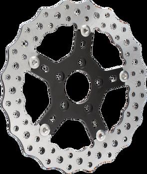 """Arlen Ness - Jagged 11.5"""" Front/Rear Brake Rotor - fits Harley Models (See Desc.)"""