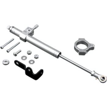 Custom Cycle Engineering - Steering Damper Kit - fits Sportster/Dyna/Softail Models