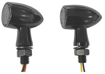 HardDrive - LED Turn Signals - Black