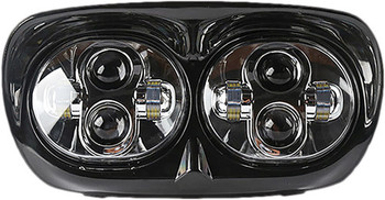 Pathfinder - Road Glide LED Headlight - Black or Chrome