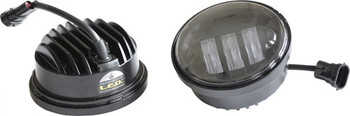 "Pathfinder - 4 1/2"" Passing Lamps - Black or Chrome"