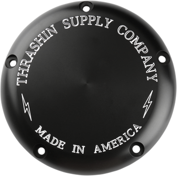 Thrashin Supply Co. - Classic Derby Cover - fits Harley Evo and Twin Cam
