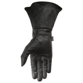 Thrashin Supply Co. - Gauntlet Siege Glove - Black Leather