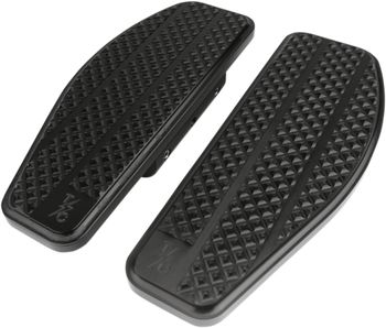 Thrashin Supply Co. - Bagger Passenger Floorboards - fits Harley Models - Black or Natural