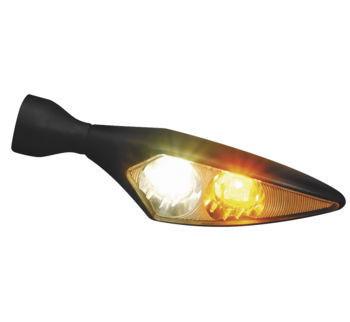 Kuryakyn - Micro Rhombus Marker Lights by Kellermann - Chrome or Satin Black