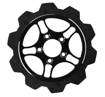 """Lyndall Brakes - Rear 11.5"""" Racing Rotors - Fits Dyna, Sportster, Softail, Touring (see desc.)"""