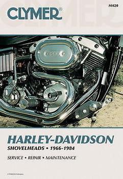 Clymer - Harley Davidson 1966 - 1984 Shovelhead Service Manual