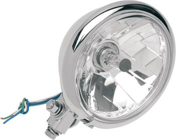 "Diamond-Style Bottom-Mount 5 3/4"" Headlight Assemblies for Springer"