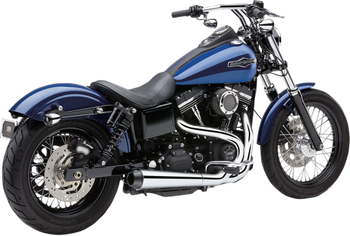 Cobra - El Diablo 2-into-1 Exhaust - fits Harley Dyna Models '12 - '17