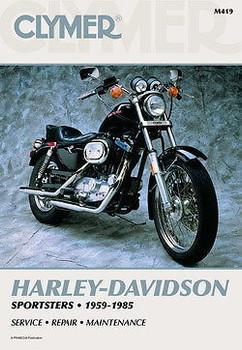 Clymer - Harley Davidson 1959 - 1985 Sportster Service Manual