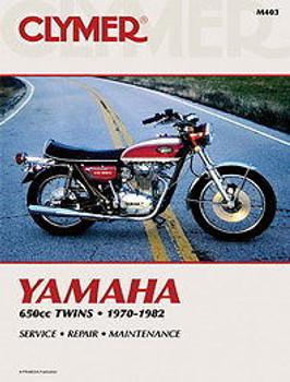 Clymer - Yamaha 650cc Twins XS650 1975 - 1982 - Service Manual