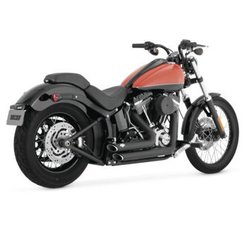 Vance & Hines - Shortshots Staggered  Exhaust System - fits FXST/FLST Models