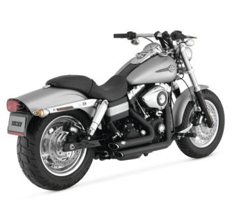 Vance & Hines - Shortshots Staggered  Exhaust System - fits FXD Models
