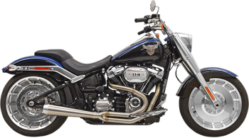 Bassani - Road Rage III 2-into-1 Exhaust System - Fits '18 FXBR/FLFB