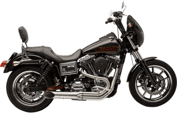 SuperTrapp - Bootlegger 2-into-1 Exhaust System - fits '06-'17 FXD/FXDWG