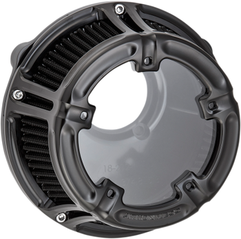 Arlen Ness - Method Clear Series Air Cleaner - fits '08-'16 FLT/'16-'17 FLST/FXDLS (Fly-By-Wire models)
