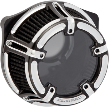 Arlen Ness - Method Clear Series Air Cleaner - fits '91-up XL Sportster