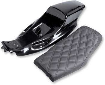 Saddlemen - Eliminator Tail Section and Seat Kit - Fits '04-'18 XL Models