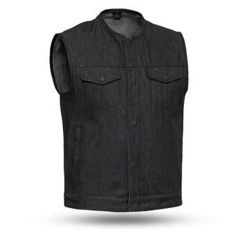First Mfg - Haywood Denim Vest