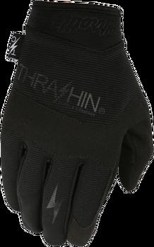 Thrashin Supply Co. Covert Gloves Black Front