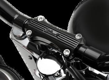 Biltwell Inc. - Motorcycle Handlebar Thunder Risers - Black