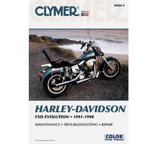 clymer manual for harley davidson 91 98 dyna evolution rh deadbeatcustoms com Clymer Manuals Honda CR250 clymer service manual review