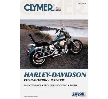 clymer manual for harley davidson 91 98 dyna evolution rh deadbeatcustoms com harley davidson evolution engine manual Harley Evolution Engine