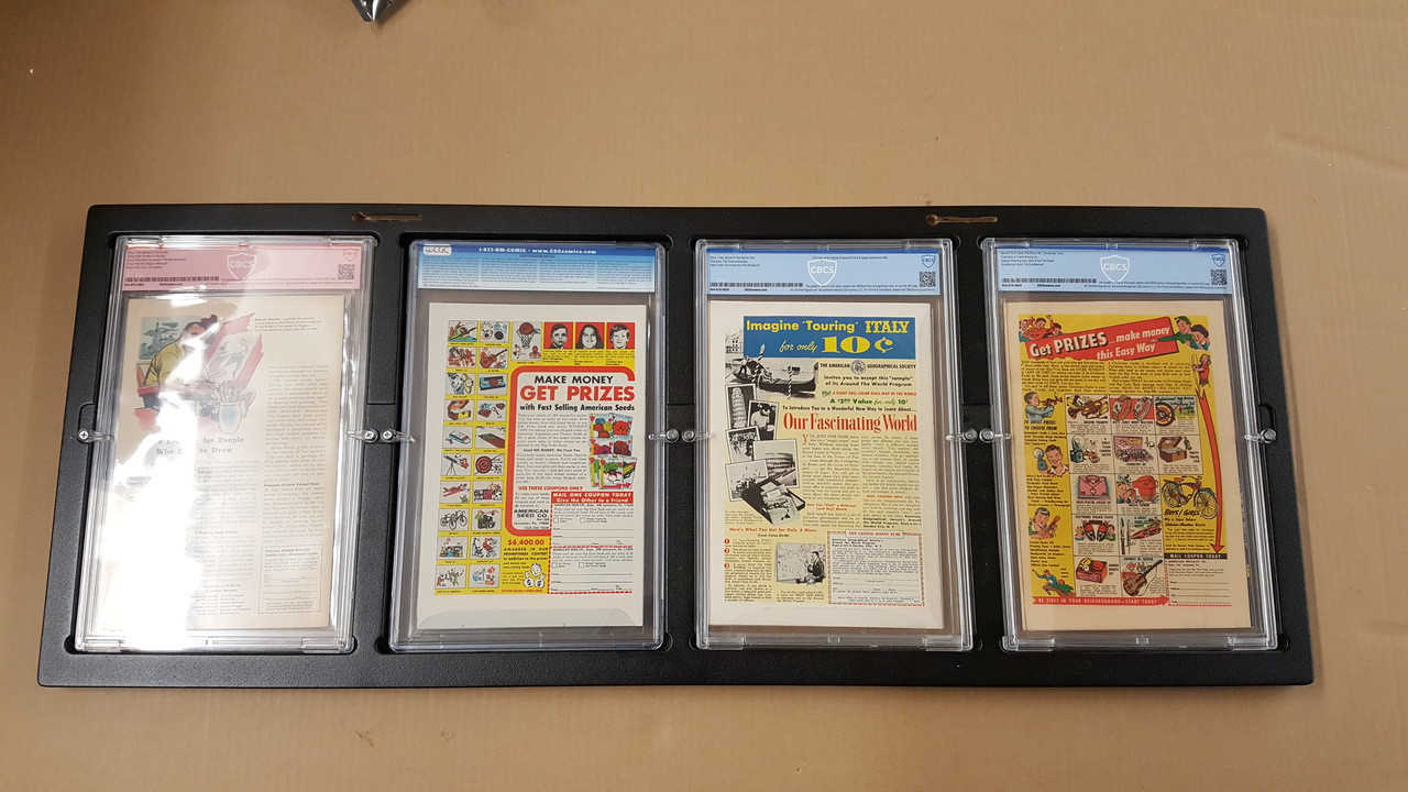 Inline4 Graded Comic Book frame by The Collectors Resource