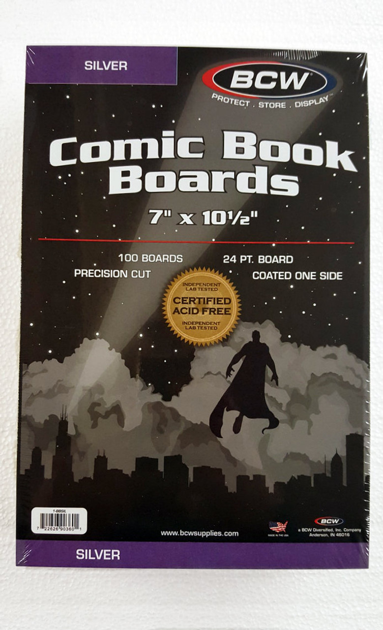 BCW Silver Age Backer Board. The Collectors Resource